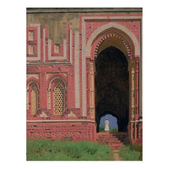 Gate Near Kutub-Minar, Old Delhi, 1875 Postcard