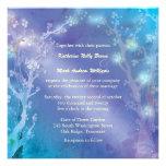 Gate of Dawn Blue Tree Theme Winter Wedding Invite Personalised Invite