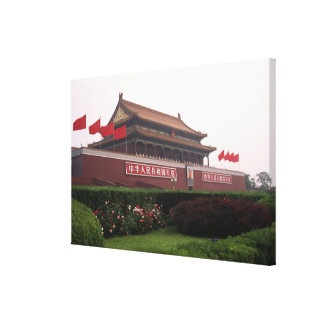 Gate of Heavenly Peace, Beijing, China Gallery Wrap Canvas