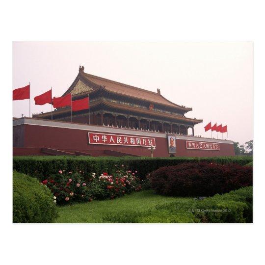 Gate of Heavenly Peace, Beijing, China Postcard