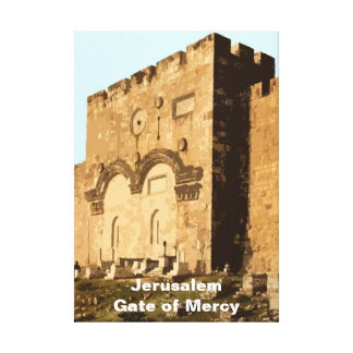 Gate of Mercy Canvas Prints