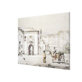 Gate of the Vine (Puerta del Vino), from 'Sketches Canvas Print