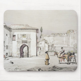 Gate of the Vine (Puerta del Vino), from 'Sketches Mouse Pad