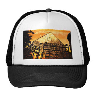 gate to house trucker hat