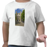 Gate to Trinity College and rows of bicycles, Tee Shirts