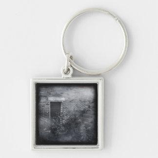 Gated Door - Daguerreotype Keychains