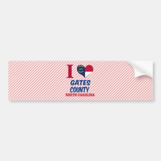 Gates County, North Carolina Bumper Sticker