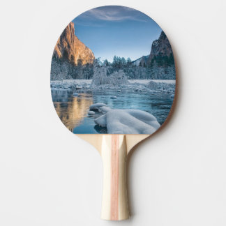 Gates in Yosemite Ping Pong Paddle