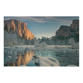 Gates in Yosemite Wood Canvas