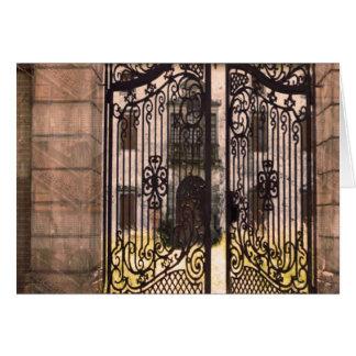 Gates Windows Bridge Artistic Return+Gift Giveaway Greeting Card