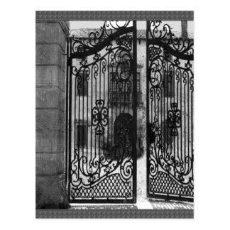 Gates Windows Bridge Artistic Return+Gift Giveaway Postcard