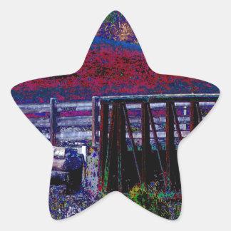 Gates Windows Bridge Artistic Return+Gift Giveaway Star Sticker