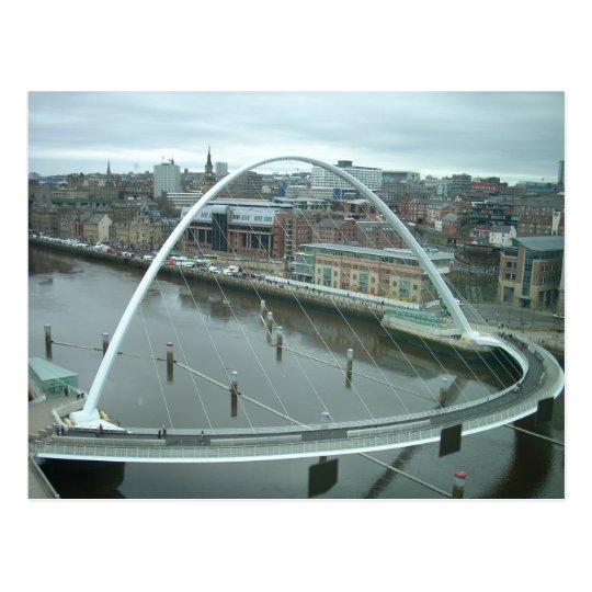 Gateshead Millennium Bridge Postcard