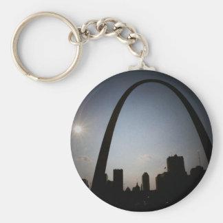 Gateway Arch Key Ring