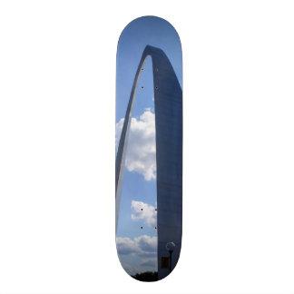 Gateway Arch Custom Skate Board
