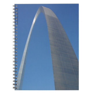Gateway Arch Spiral Notebook
