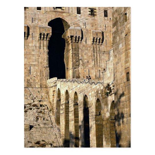 Gateway of the 12th century Qala (fortress), Alepp