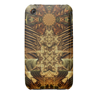Gateway of the Ancients Mandala iPhone 3 Case-Mate Cases