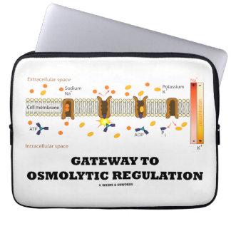 Gateway To Osmolytic Regulation (Active Transport) Laptop Sleeve