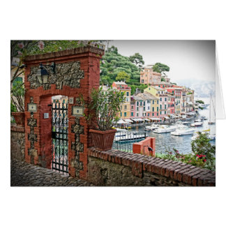 Gateway to Paradise - Portofino, Italy Greeting Card