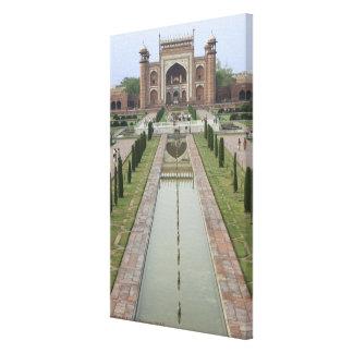 Gateway to Taj Mahal, India Canvas Print