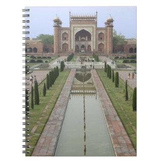 Gateway to Taj Mahal, India Notebook