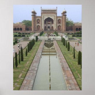 Gateway to Taj Mahal, India Poster