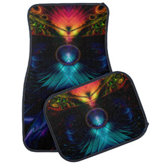 Gatez To The Starz Abstract Car Mat