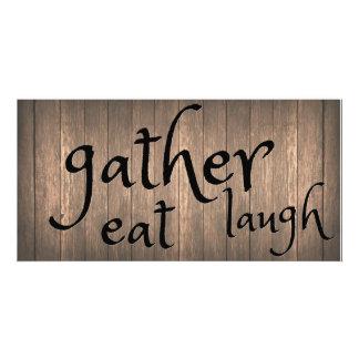 Gather Eat Laugh Photo Print
