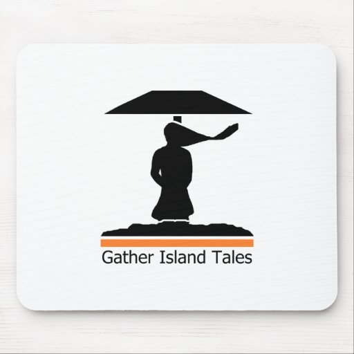 Gather Island Tales Logo Mouse Pad