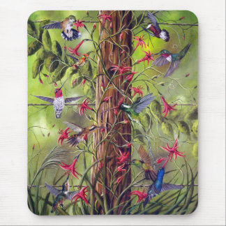 GATHERING AT THE FENCEPOST MOUSE PAD