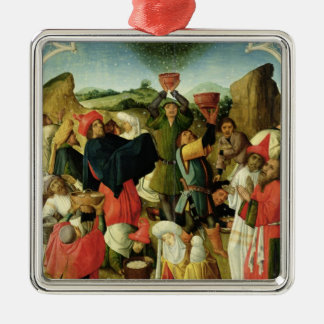 Gathering of the Manna Christmas Ornament