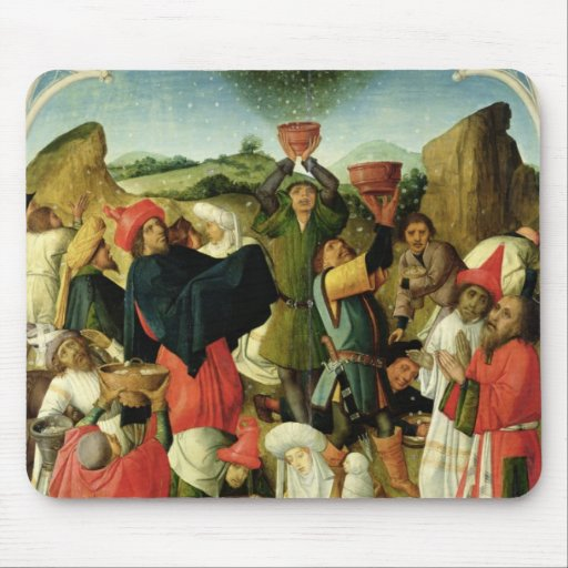 Gathering of the Manna Mousepad