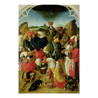 Gathering of the Manna Poster