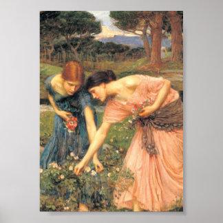 Gathering Rosebuds While Ye May Poster