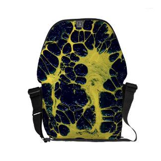 GATHERING STORM (an abstract art design) ~ Commuter Bag