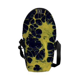 GATHERING STORM (an abstract art design) ~ Messenger Bag