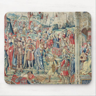 Gathering the Booty, Tapestry of David and Bathshe Mouse Mat