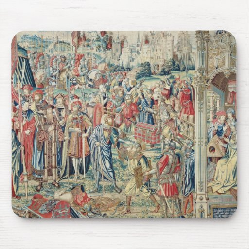 Gathering the Booty, Tapestry of David and Bathshe Mouse Pad