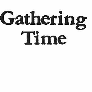 Gathering Time Embroidered Polo