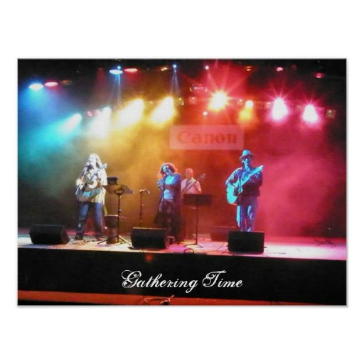 Gathering Time Live Poster