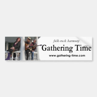 Gathering Time Picture Bumper Sticker