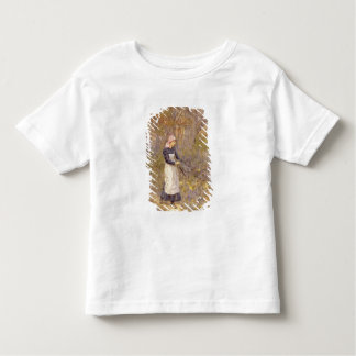 Gathering wood for mother shirt
