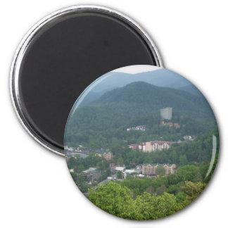 Gatlinburg, Tennessee 6 Cm Round Magnet