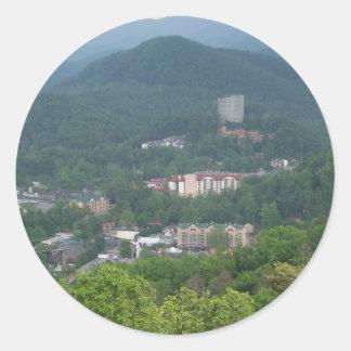 Gatlinburg, Tennessee Round Sticker