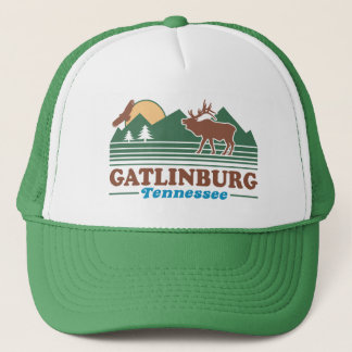 Gatlinburg Tennessee Trucker Hat