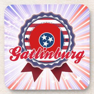 Gatlinburg TN Drink Coaster