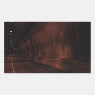 Gatlinburg Tunnel Rectangular Sticker