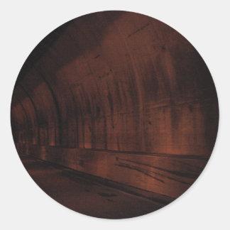 Gatlinburg Tunnel Round Sticker