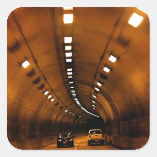 Gatlinburg Tunnel Square Sticker